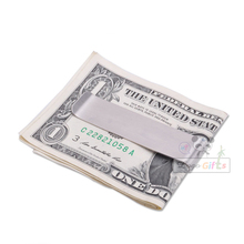 High quality stainless steel money clip can be customized private logo personalized wallet large