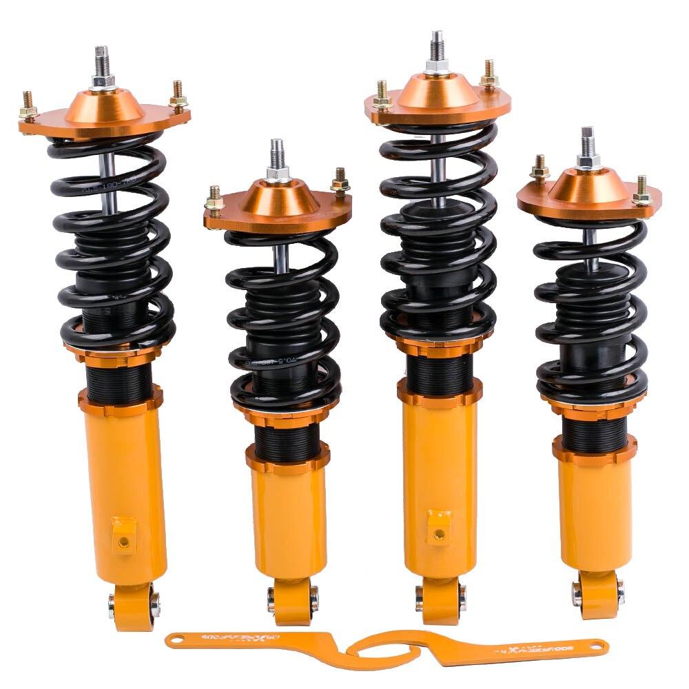Pour Mazda Miata 90-05 Réglable Hauteur Coilovers 96-98 NA NB MX5 Coilovers chocs Suspension Amortisseur spring Struts