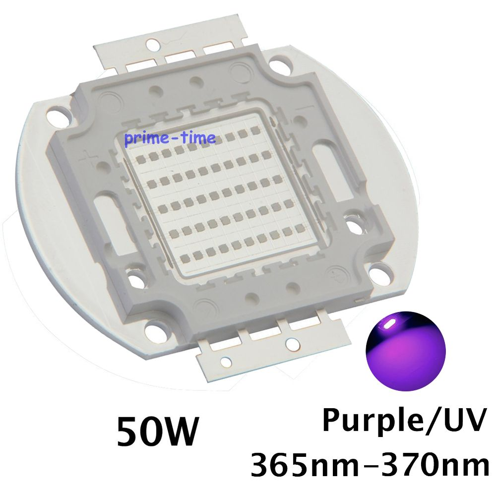 50W Ultra Violet UV High Power Light Chip Epileds 42Mil 365nm-370NM,380nm-385nm,395-405nm,420nm-425nm DIY COB Light Source new epileds 45mil high power 100w cob uv 395nm 400nm led chip diode purple ultra violet light for currency verification medical