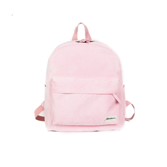 6d6e97d234d4 new rugzak kids knapsack women back pack college bag for girls cute  corduroy backpack pink schoolbags woman bags mochila colegio