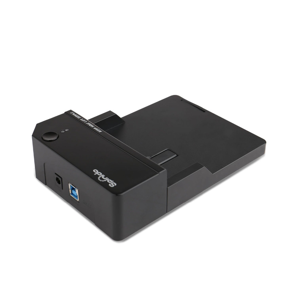 Spinido external hd usb 3.0 enclosure to 2.5 or 3.5 Inch External Aluminum Hard Drive Docking Station Optimized For SSD and HDD