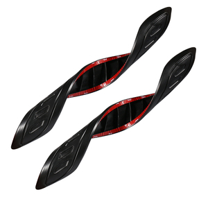 Image 3 - YCCPAUTO bande de Protection pour pare chocs de voiture, 2 pièces, bande Anti collision, Protection en caoutchouc pour le coin du corps, moulages, barre de voiture, styliste