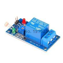 10PCS 1 Channel 5V Relay Module LSR Light Sensitive Sensor Module Photosensitive Optical Relay Module 5V For Arduino DIY