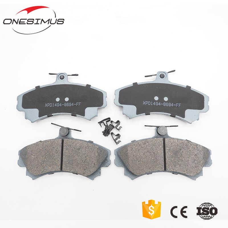 Front Brake pad Brake System OEM MR249241 for mit- 4G92/ 4G93(DOHC 16V)  F9Q1 F9Q2 3A91 4A90 4A91 CARISMA SPACE STAR COLT VI