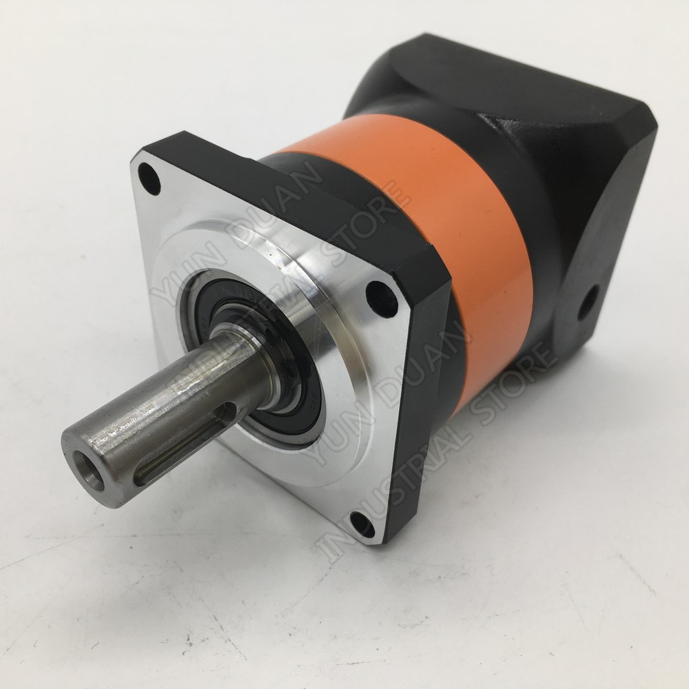 Planetary Gearbox 90mm Flange 3:1 Speed Ratio 19MM 12.7MM 1/2 Input Gearbox Reducer for 750W 1 KW Servo Motor CNC GearboxPlanetary Gearbox 90mm Flange 3:1 Speed Ratio 19MM 12.7MM 1/2 Input Gearbox Reducer for 750W 1 KW Servo Motor CNC Gearbox