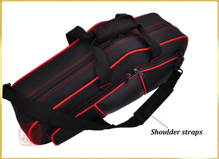 E flat altsaxofoon zakken/sax bagagebox/rugzak/dubbele schouders sax backback voor volwassen muziek instrument speelgoed - 4