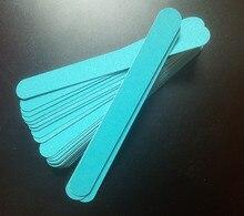 10 шт. 100/180 синий Пилочки для ногтей щепа Дизайн ногтей файл Гвозди польский Инструменты ногтей Интимные Аксессуары Голубой цвет Шлифовальные Файл буфера Блок