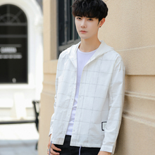 2019 models Men's long sleeved Spring and Autumn Period Hooded Loose trend