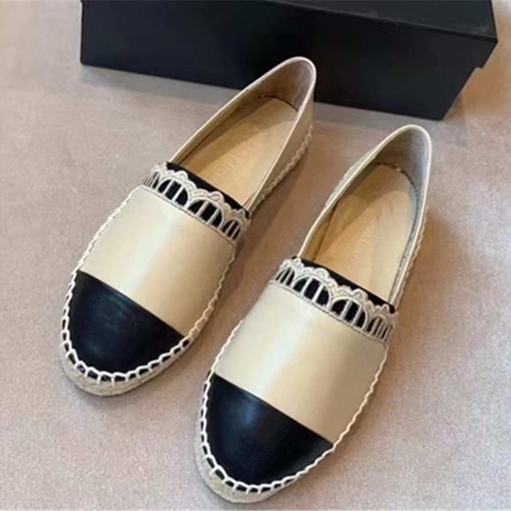 Women s Shoes New Fashion Genuine Leather Flat Shoes Classical Brand Designers Women Spring Autumn Espadrilles