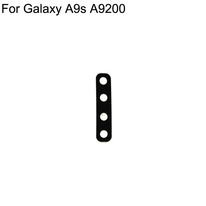 High quality For Samsung A9s A9200 SM-A9200 Rear Back Camera Glass test good For Galaxy A9 S a9s 2019