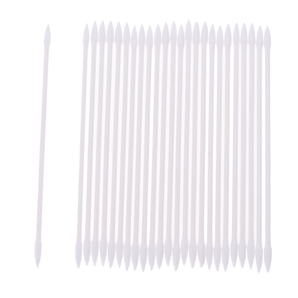 24pcs/pack 3' Precision Tips Cotton Swabs Hobby Model Craft Maintenance Tool