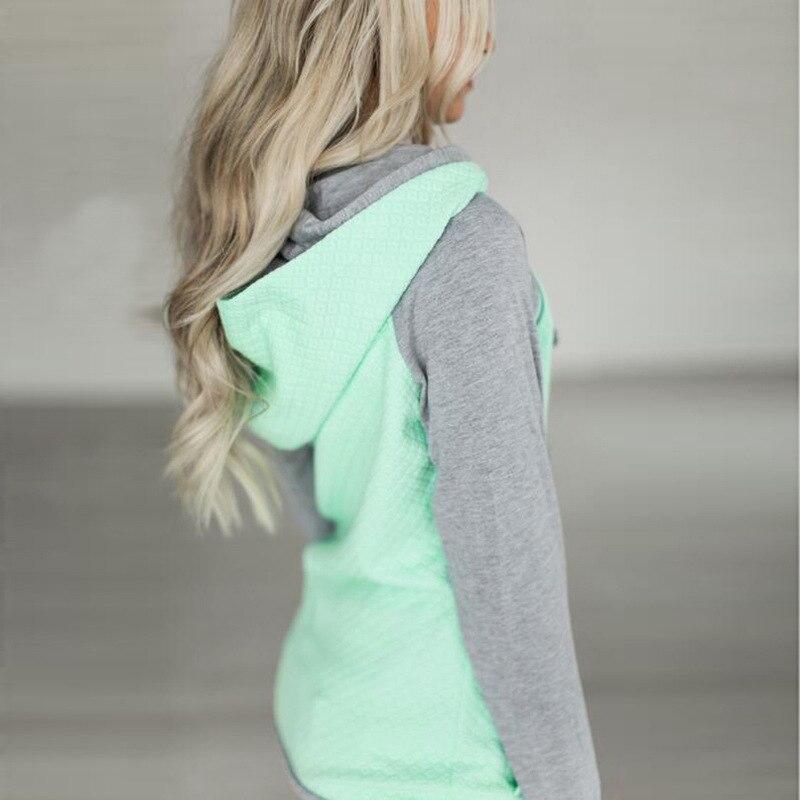 elsvios 2017 double hood hoodies sweatshirt women autumn long sleeve side zipper hooded casual patchwork hoodies pullover femme ELSVIOS 2017  hoodies, Autumn Long Sleeve HTB1sp06hoFWMKJjSZFvq6yenFXa1