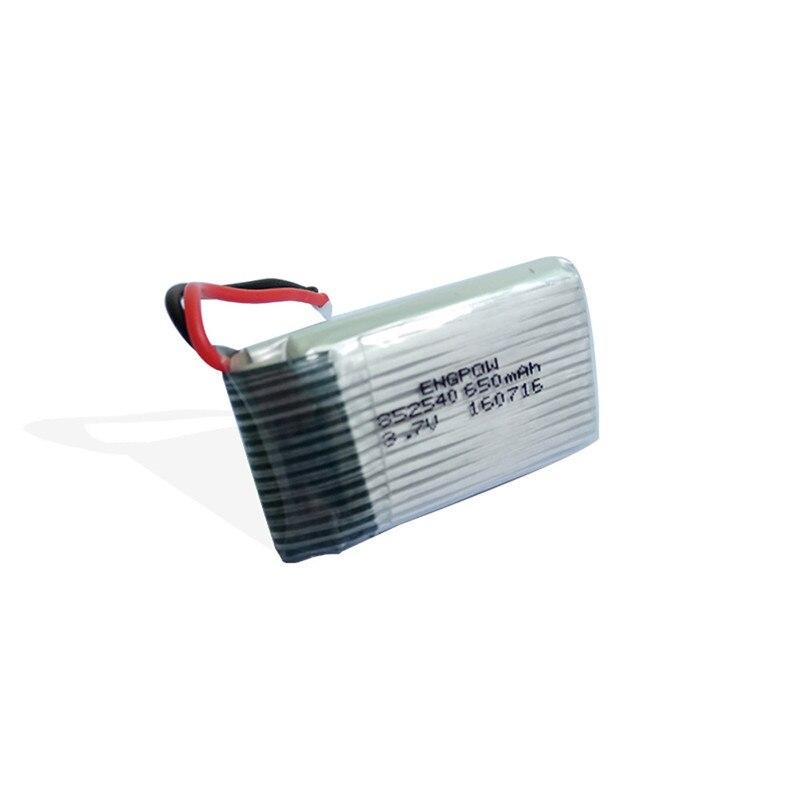 Alto qaulity 4 pz 3.7 v 650 mah batteria + 5 in 1 caricatore per syma x5c x5a quadcopter dorp libero