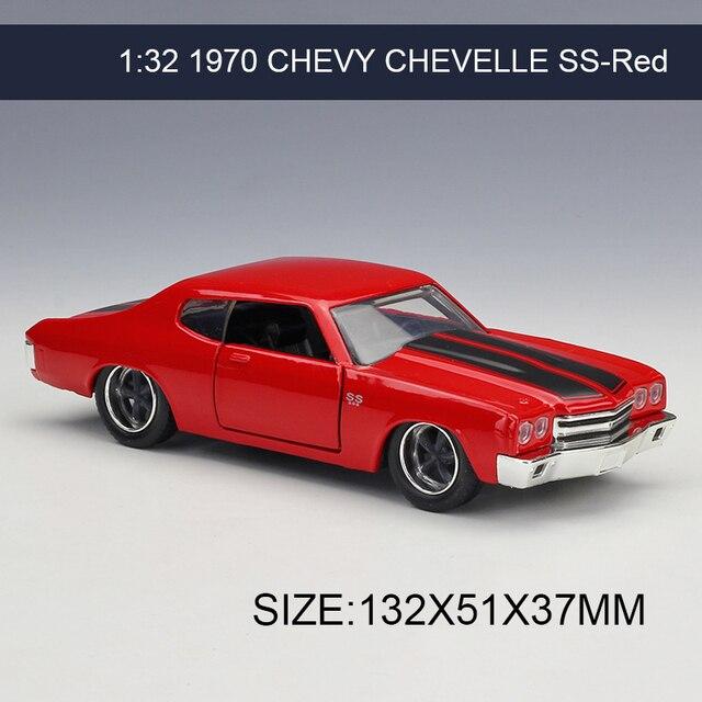 1 32 voiture miniature 1970 chevy chevelle ss rouge v hicule jouer collection mod les sport. Black Bedroom Furniture Sets. Home Design Ideas