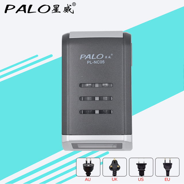 LCD Display With 4 Slots Smart Intelligent Battery Charger For AA / AAA NiCd NiMh Rechargeable Batteries