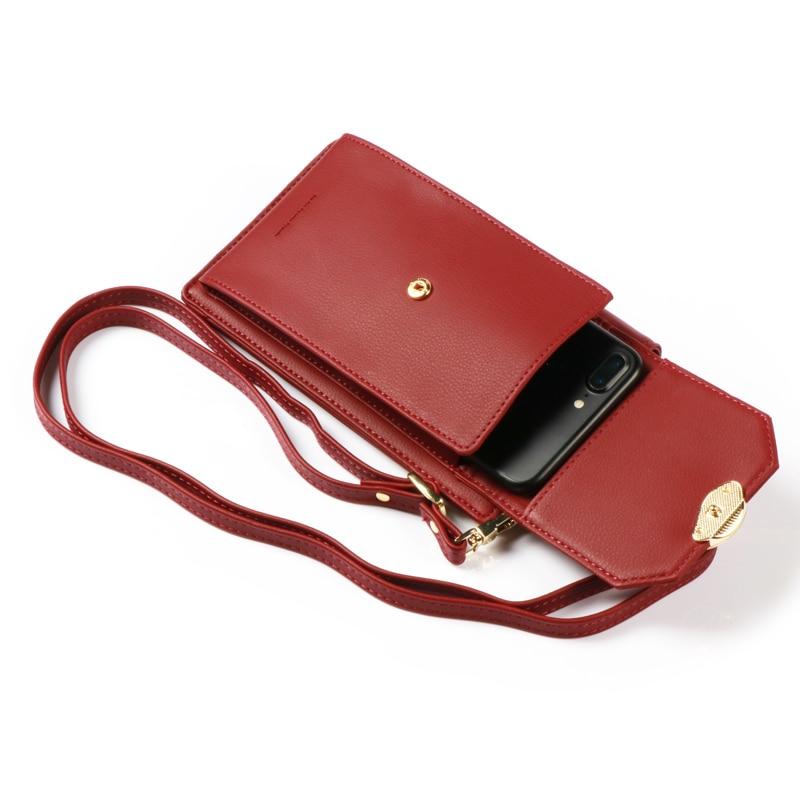 Pearl Angeli Luxury Wallet Kvinnliga Leaf Hasp Coin Handväska - Plånböcker - Foto 6
