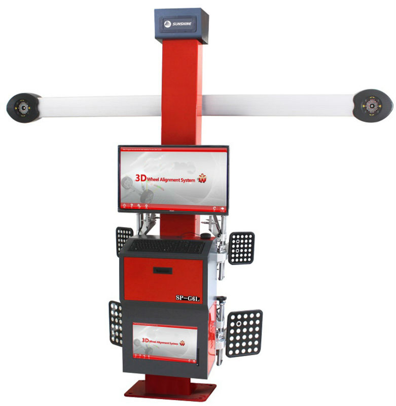 Car Repair 3D Wheel Alignment Machine SP-G6L