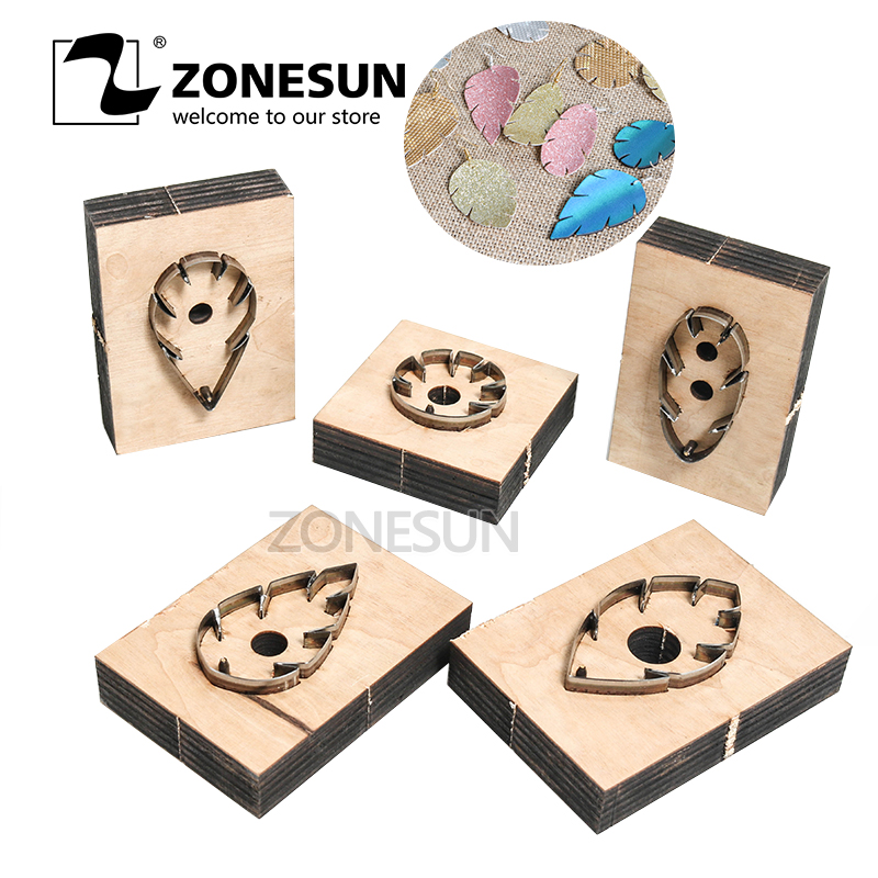 Aliexpress.com : Buy ZONESUN leather earring cutting die ...
