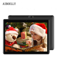AIBOULLY 2018 New Android Tablets Original 10.1 inch 3G Phone Call Tablet PC 7.0 OS Octa Core 4GB RAM 32GB ROM 2.5D Screen 9.7'' Tablets     -