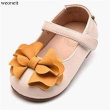 4e87983084a6d8 Weoneit princesse enfant en bas âge bébé chaussures belle fleur petites  filles en cuir chaussures printemps automne fille chauss.