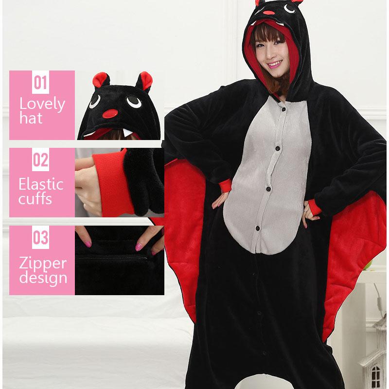 животные Guru Drag костюм для взрослых девочек Дино распашонку фланель панда тоторо для женщин аниме сочетает Марк цельный костюм