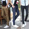 Mens Slim Fit Casual Business Plaid Suit Pants High Quality Brand Spring Autumn Formal Trousers Black Khaki