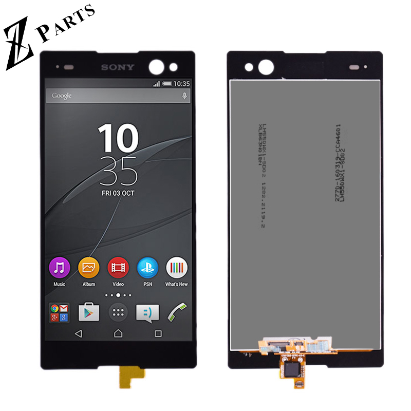 Original Für <font><b>Sony</b></font> <font><b>Xperia</b></font> <font><b>C3</b></font> D2502 D2533 LCD Display Touch Screen mit Digitizer Vollversammlung Reparatur Teile <font><b>C3</b></font> D2502 D2533 lcd image