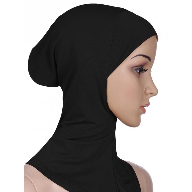 Soft Stretchble Muslim Sport Inner Hijab Caps Islamic Underscarf  Hats Crossover Classic Stylecap reggaecap browncrossover adapter -