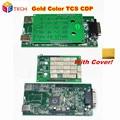 2016 2014.2/2015.3/2015.1 Software de Ouro da Cor do Ouro New VCI TCS CDP PRO Plus Ferramenta De Diagnóstico OBD2 Para carros/Caminhões