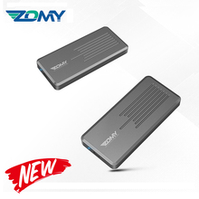 Zomy m.2 ssd case CNC excellent heat dissipation M.2 NVME to USB 3.1 SSD enclosure 10Gbps aluminum M-KEY to USB-C for mac laptop