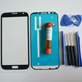 Front Outer Glass Lens Display Panel for Samsung Galaxy note 2 N7100 Replacement Part & LOCA glue & Tools Kit & adhesive