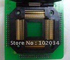 100% NEW  IC51-1204 QFP120 TQFP120 IC Test Socket / Programmer Adapter / Burn-in Socket  (IC51-1204-1497) 100% new sot23 sot23 6 sot23 6l ic test socket programmer adapter burn in socket
