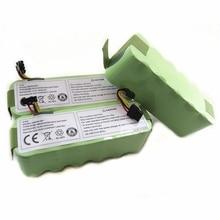 все цены на 3pcs/lot For Ecovacs CR120 Dibea Panda X500 X580 Kk8 Haier Sweeping Robot 14.4V 3500mAh NI-MH Rechargeable Vacuum Cleaner онлайн