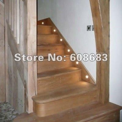 binnenlandse zaken trap verlichting set ip54 led vloer inbouw light 24 stks 05