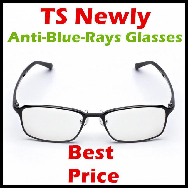 Mijia Customized New Arrival Xiaomi TS Anti-blue-rays Protective Glasses  Eye Protector For 3b6370f624b
