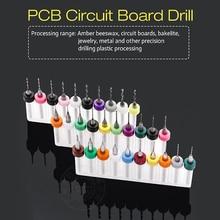 цена на PCB Print Circuit Board Drill Bits PCB drill tool kit Carbide Micro CNC PCB drill bits power tools circuit board drill