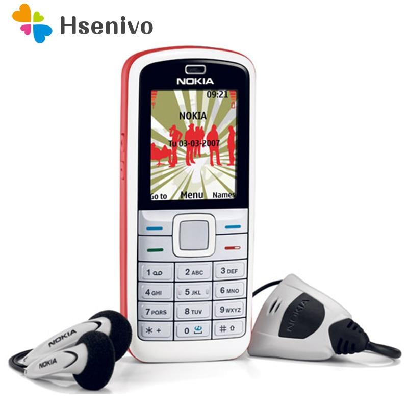 5070 Original Nokia 5070 GSM 2G Unlocked Cheap Cell Phone One Year Warranty Multi-language Refurbished