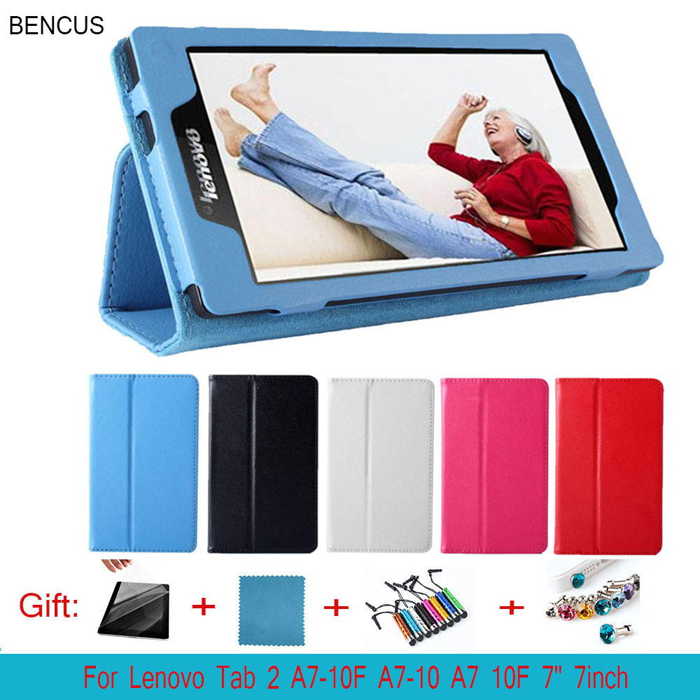 BENCUS For Lenovo Tab 2 A7-10F case 7inch PU leather Cover case For lenovo TAB 2 a7 10F tablet case