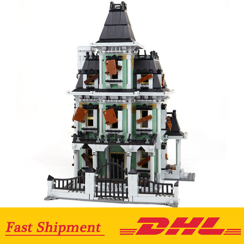 2141Pcs Monster fighter The haunted house 16007 Model Building Blocks Compatible With legoinglys 10228 Gifts2141Pcs Monster fighter The haunted house 16007 Model Building Blocks Compatible With legoinglys 10228 Gifts