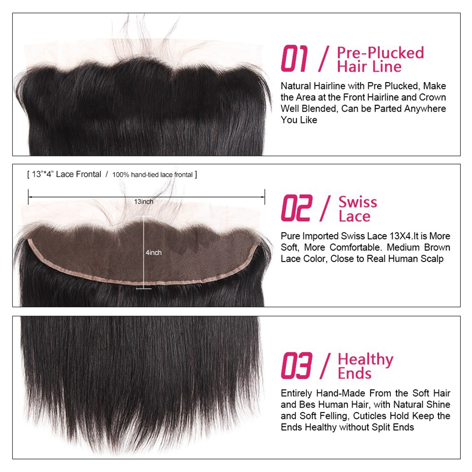 straight hair lace frontal closure (2)