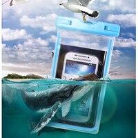 Uniwersalny wodoodporny telefon torba przejrzyste dotykalne etui plaża Podwodne dla sportu na świeżym powietrzu