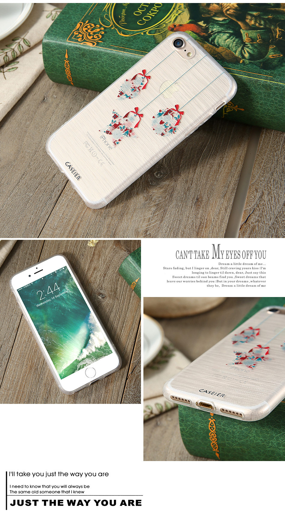 HTB1sp6SOpXXXXXMapXXq6xXFXXXg - Christmas Phone Case For iPhone 7 6 6S Plus iPhone 5S SE 5 Cases For Samsung Galaxy S6 S7 Edge Cute Cover Accessories PTC 286