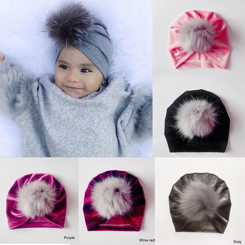 Molixinyu Baby Kids Pom Boy Girl Winter Hat Children Boy Girl Hat Knit Warm Cute Hat Photography Photos Lovely Kids Cap Boys' Baby Clothing