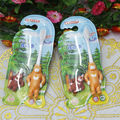 New 2 PCS/Lots Children Bear Toothbrush teeth Protective Toothbrushes baby dental care tooth brush