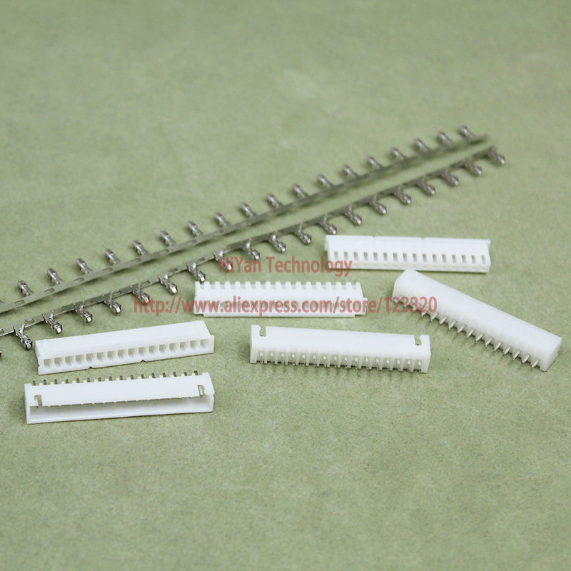 (50sets/lot) connector XH2.54-16P XH2.54 16Pin 180degrees Pitch:2.54MM 0.1inch Pin Heade ...