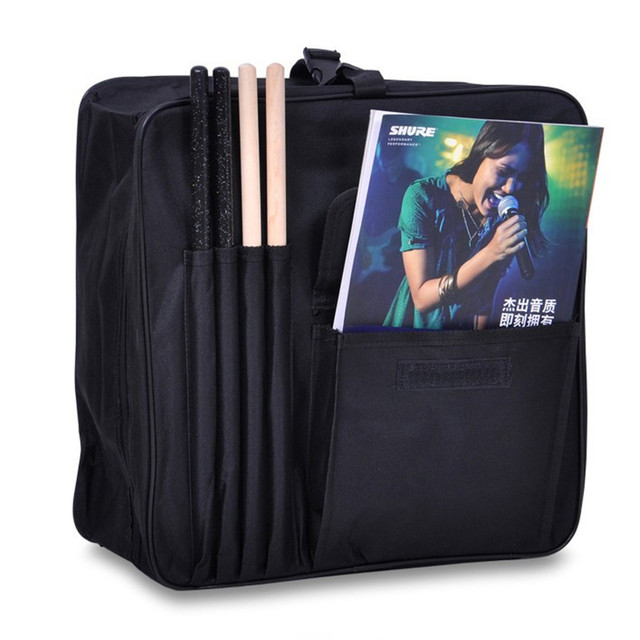 Professional portable 13 14 snare drum bag backpack oxford package instrument accessories cover waterproof box shoulder straps