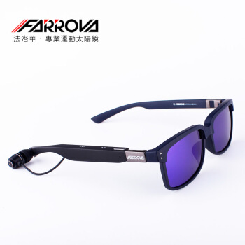 FARROVA Bluetooth glasses polarized sunglasses mens hipster female myopia headphones headset riding sports