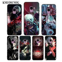 For Samsung Galaxy Note 9 8 S9 S8 Plus S7 S6 Edge S5 Mini Black Silicone Phone Case Anime Tokyo Ghouls Style