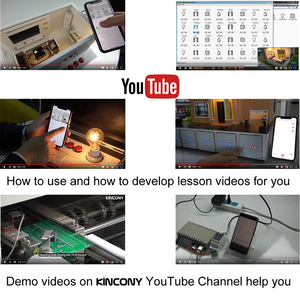 Image 5 - Kincony 4 TCP IP релейный канал управления 4 сигнализация вход печатная плата умный дом автоматизация Domotica модуль управления ler Ethernet