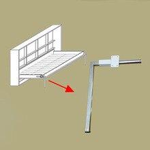 Mécanisme caché mural, jambes de lit pliable, accessoire, 2 pièces/lot